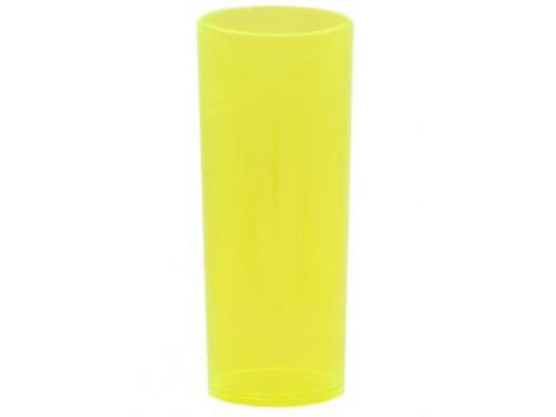 COPO LONG DRINK 320ML - AMARELO NEON